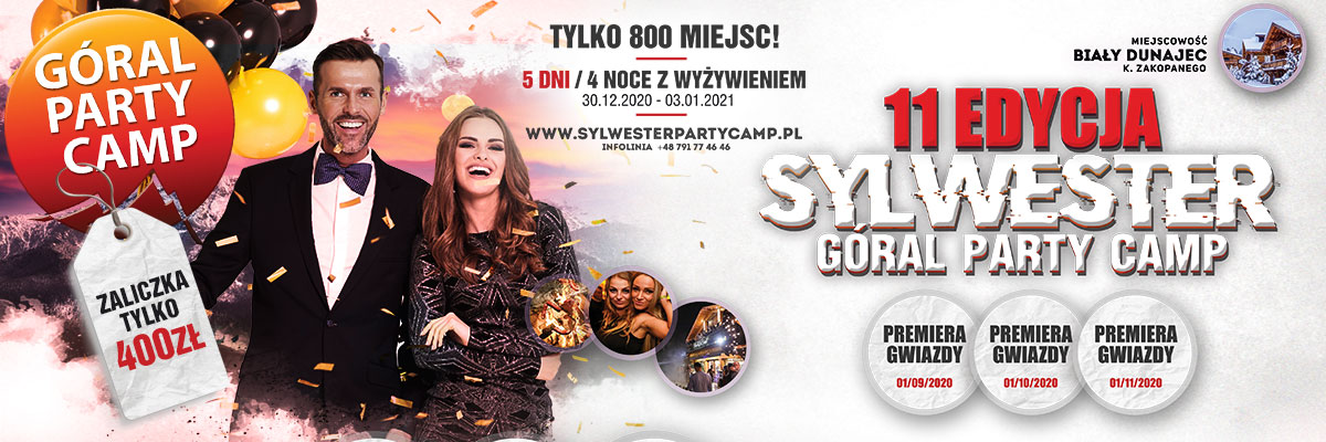 SYLWESTER PARTY CAMP 2021