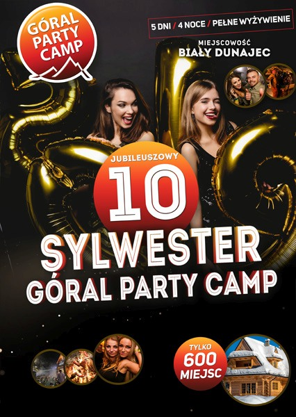 SYLWESTER PARTY CAMP 2019 / 2020
