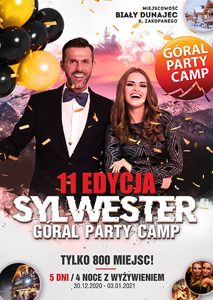 SYLWESTER PARTY CAMP 2020 / 2021